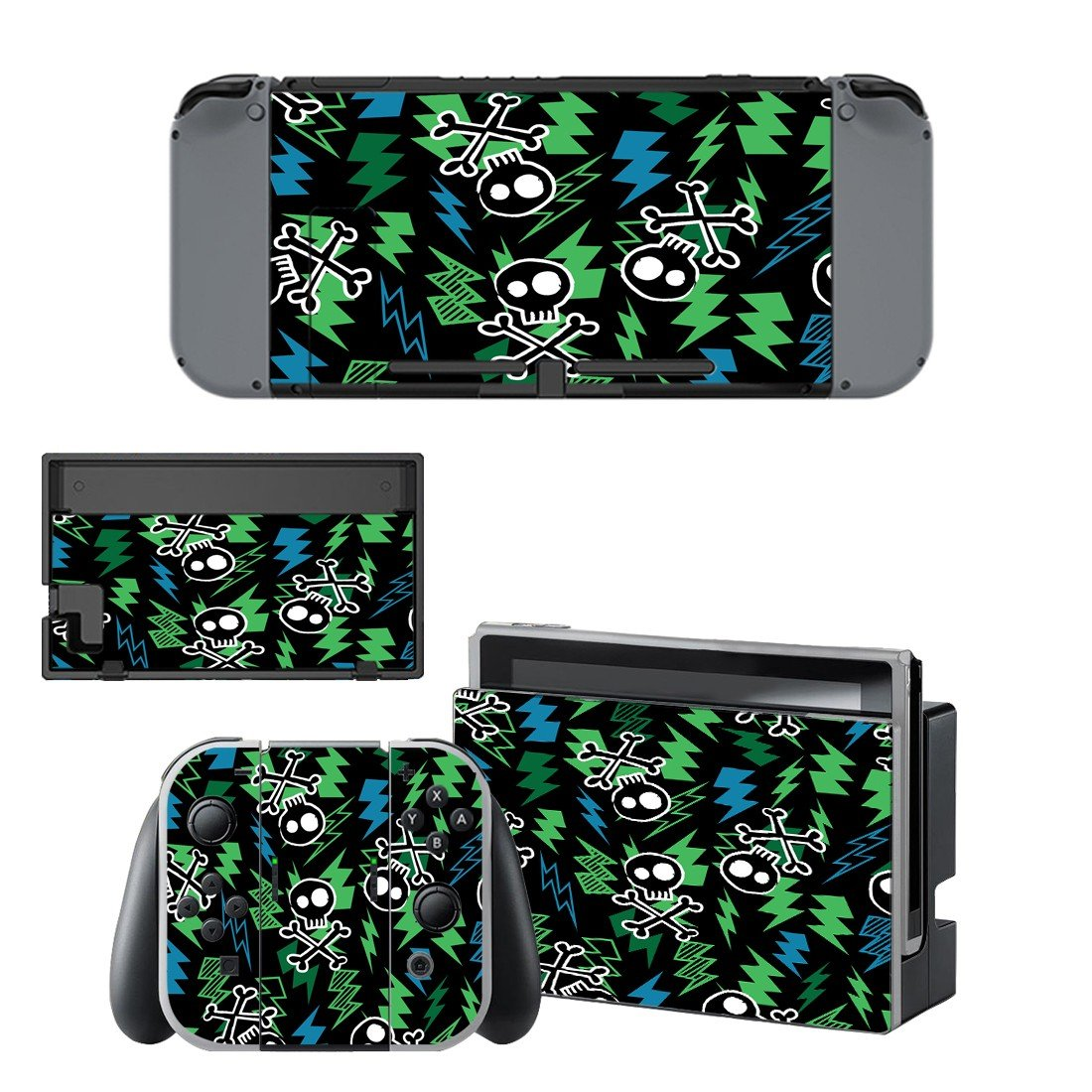 Onepiece decal for Nintendo switch console sticker skin