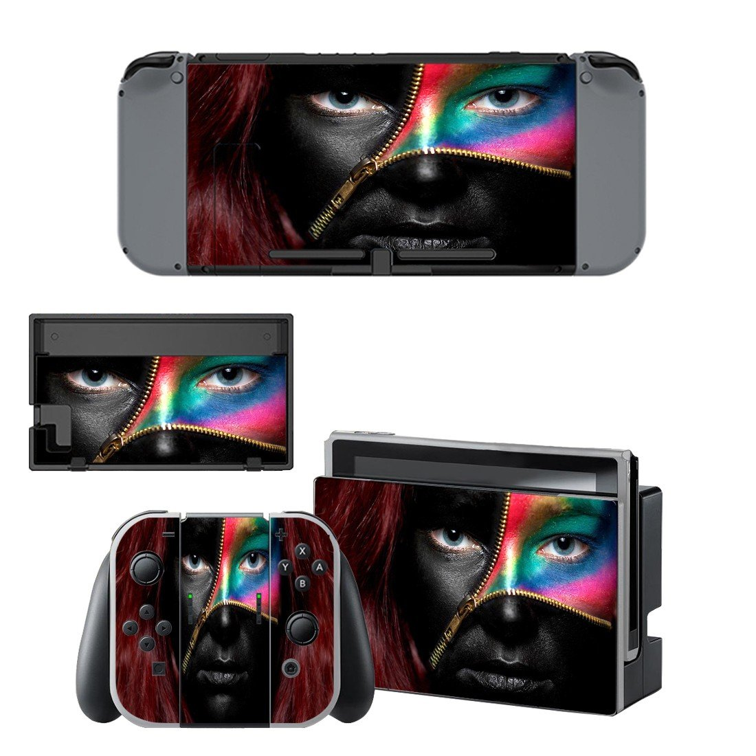 Trafficking Muzik decal for Nintendo switch console sticker skin
