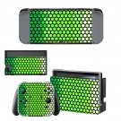Plant cell pattern decal for Nintendo switch console sticker skin