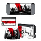 Fast & Furious decal for Nintendo switch console sticker skin
