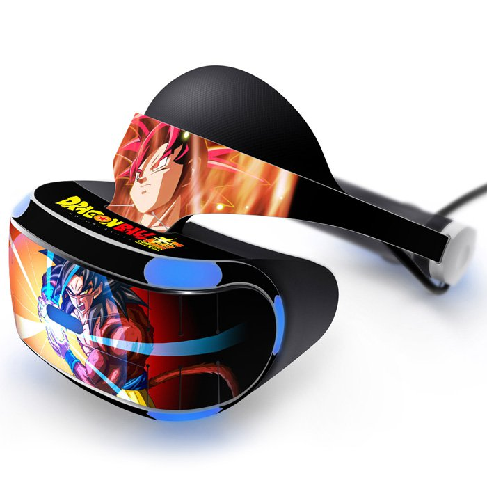 Dragon ball Z super Skin Decal for Playstation VR PS4 Headset cover sticker