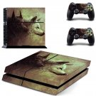 Wolf pair skin decal for ps4 console and controllers