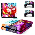 Dragon Ball super skin decal for ps4 console and controllers