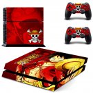 One Piece skin decal for ps4 console and controllers