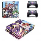 Date a live anime ps4 pro skin decal for console and controllers