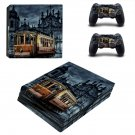 Tram wallpaper ps4 pro skin decal for console and controllers