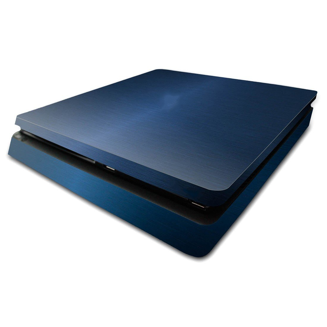 Classic blue ps4 slim skin decal for console and controllers