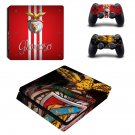 Benfica hd ps4 slim skin decal for console and controllers