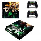 Attack on Titan ps4 slim skin decal for console and controllers