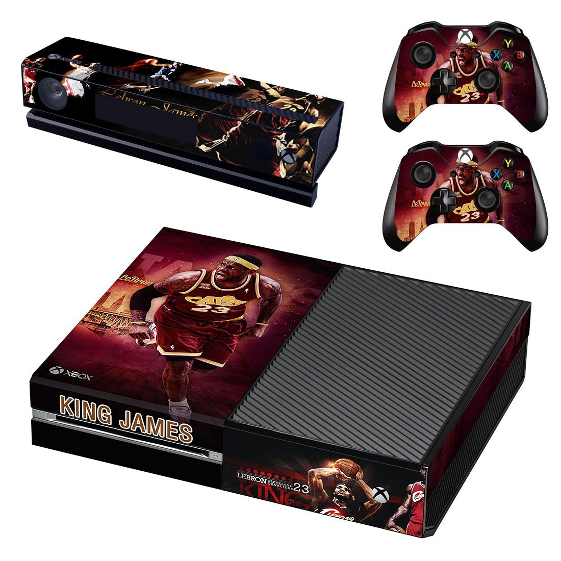 King James skin decal for Xbox one console and controllers