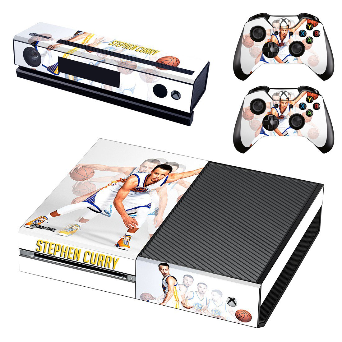 Stephen Curry skin decal for Xbox one console and controllers