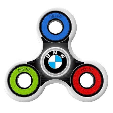 BMW icon Skin Decal for Hand Fidget Spinner sticker toy