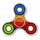 Colored wood Skin Decal for Hand Fidget Spinner sticker toy