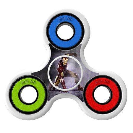 Ironman Skin Decal for Hand Fidget Spinner sticker toy
