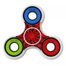 Spiral red pattern Skin Decal for Hand Fidget Spinner sticker toy
