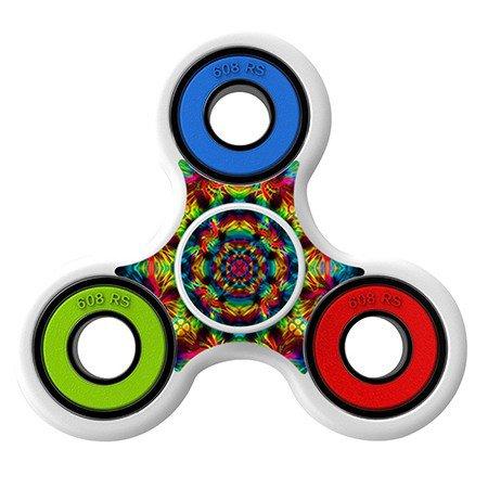 Spiral red pattern Skin Decal for Hand Fidget Spinner sticker toy