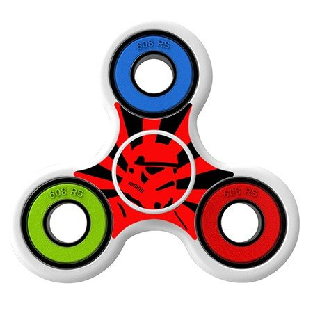 Stormtrooper skin Skin Decal for Hand Fidget Spinner sticker toy