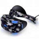 Broken skull Skin Decal for Playstation VR PS4 Headset cover sticker