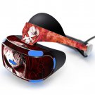 Blurry skull Skin Decal for Playstation VR PS4 Headset cover sticker