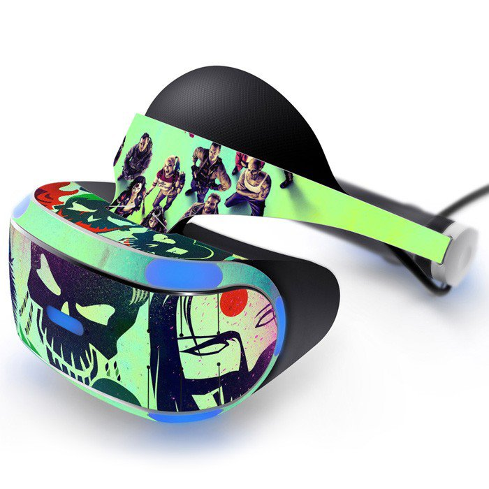 Suicide squad Skin Decal for Playstation VR PS4 Headset cover sticker