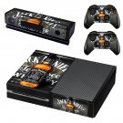 Jack Deniel Whisky skin decal for Xbox one console and controllers