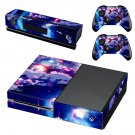 Bright sky cloud skin decal for Xbox one console and controllers