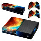 Cloudy sky skin decal for Xbox one console and controllers