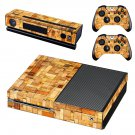 Wood slide baord skin decal for Xbox one console and controllers