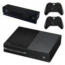 Carbon fiber board skin decal for Xbox one console and controllers