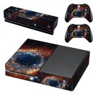 Zoom in galaxy skin decal for Xbox one console and controllers