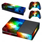 Cloudy space skin decal for Xbox one console and controllers