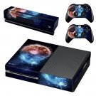 Burning planet skin decal for Xbox one console and controllers