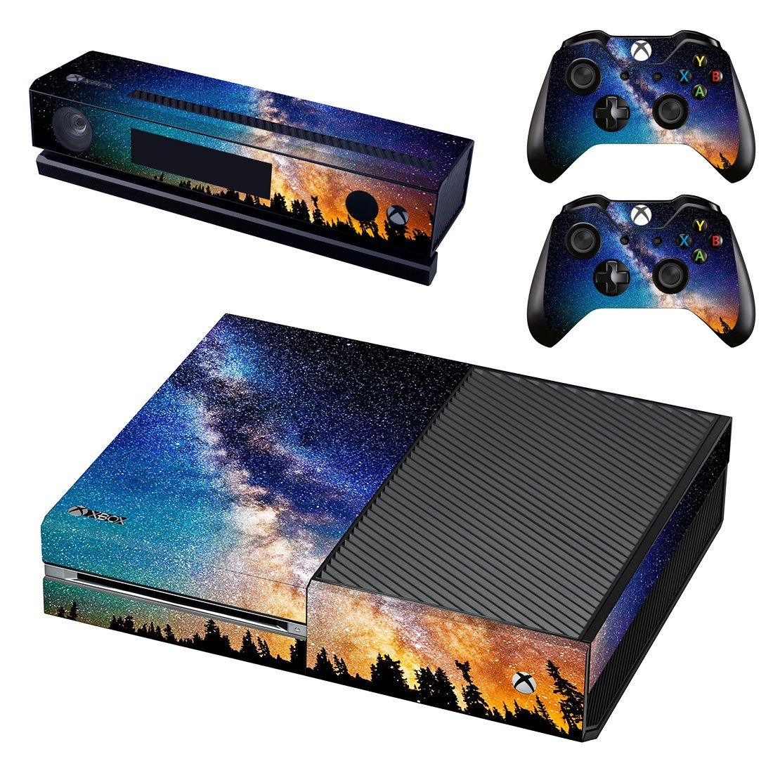 Starry sky skin decal for Xbox one console and controllers
