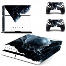 Alien Covenant skin decal for PS4 PlayStation 4 console and 2 controllers
