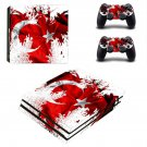 Flag of skin decal for console and controllers