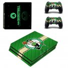 Boston Celtics skin decal for console and controllers