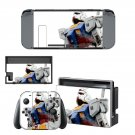 Wing Gundam v2 decal for Nintendo switch console sticker skin