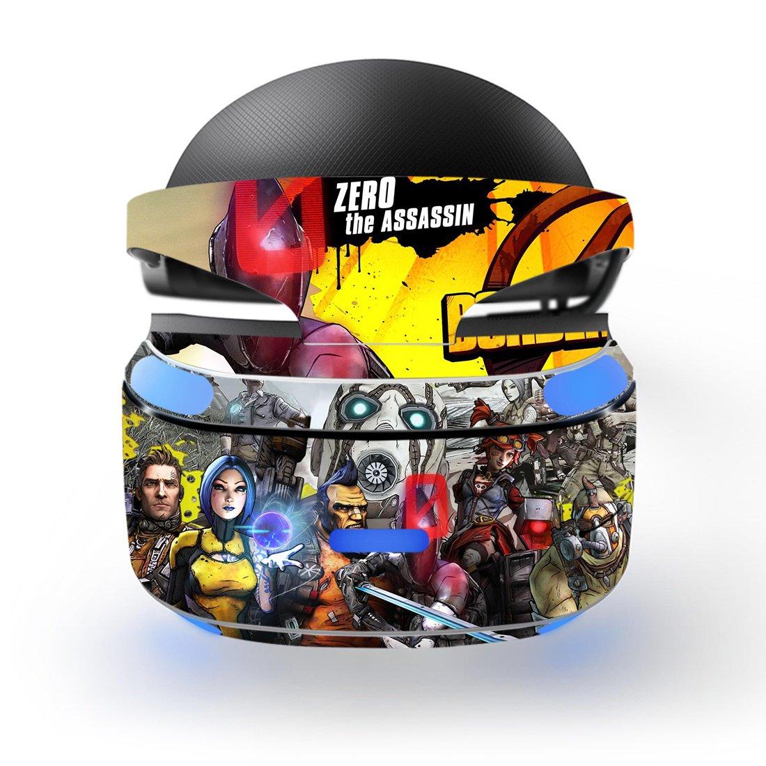Borderlands 2 Skin Decal for Playstation VR PS4 Headset cover sticker