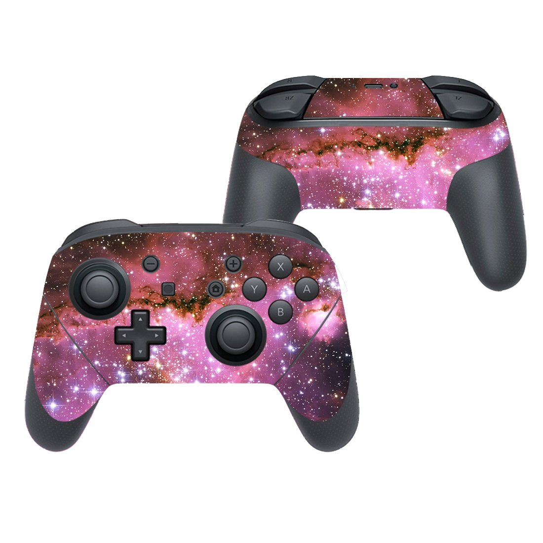 Galaxy stars decal for Nintendo switch controller pro sticker skin