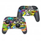 Sticker bomb decal for Nintendo switch controller pro sticker skin