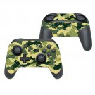 Blurry camouflage decal for Nintendo switch controller pro sticker skin
