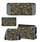 Bomb sticker Nintendo switch console sticker skin