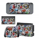 Animated Texture Nintendo switch console sticker skin