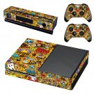 Blood sweet vector skin decal for Xbox one console and controllers