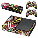 Eat sleep jdm domo skin decal for Xbox one console and controllers