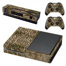 Rusted  stone wall skin decal for Xbox one console and controllers