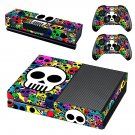 Skulls skin decal for Xbox one console and controllers