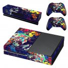 Trippy space skin decal for Xbox one console and controllers