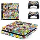 Bomb sticker  skin decal for PS4 PlayStation 4 console and 2 controllers