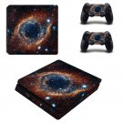 Open Galaxy ps4 slim skin decal for console and controllers